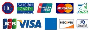 ネイルサロンFASTNAIL(ファストネイル)で使用可能クレジットカード